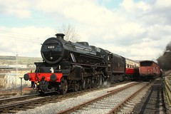 45212 (feroequineologist) Tags: 45212 black5 lms kwvr worthvalleyrailway worthvalley railway train steam