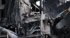 deconstruction (Bob_Last_2013) Tags: stjames|centre demolition modernarchitecture brutalism concrete