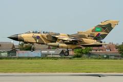 RSAF Tornado IDS ZH917 CS037 TSP (Vortex Photography - Duncan Monk) Tags: rsaf royal saudi air force bae warton aerodrome egno tsp tornado ids sustainment program zh917 cs037 camo camouflage aviation aeroplane avgeeks aircraft raf tarnish landing