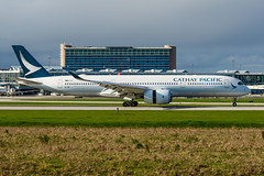 CYVR - Cathay Pacific A350-900 B-LRB (CKwok Photography) Tags: yvr cyvr cathaypacific a350 blrb