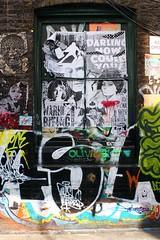 IMG_2364 (Kathi Huidobro) Tags: windows wheatpaste wheatpasteart posterart oldhollywood marlonbrando sophialoren streetart urbanscene urbanart montage posters londonstreets urban zlondon shoreditch artsarea architecture graffiti graffitiart flyposting london uk street art