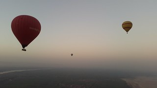 Hot Air Balooning over Luxor