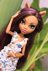 Clawdeen Wolf (malvinavlasova26) Tags: doll high monster beautiful spring wolf clawdeen