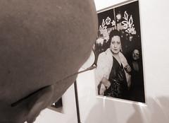 Man looking at a Diane Arbus Photograph (eks4003) Tags: sfmoma arbus dianearbus photo