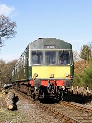 BR Class 101 Diesel Multiple Unit (chaz jackson) Tags: goathland yorkshire uk brclass101dieselmultipleunit dmu br diesel train engine nymr locomotive 101