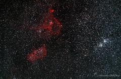 Nébuleuses du Coeur et de l'Ame (achrntatrps) Tags: d5300 suivinikkor afs70200mmf28g nightshot nikon photographe photographer alexandredellolivo dellolivo lachauxdefonds suisse nuit night nacht achrntatrps achrnt atrps radon200226 radon etoiles stars sterne estrellas stelle astronomie astronomy noche notte astrophotographie twin1isr2 eosforastro astrotrac320xic 1805ic 1848cassiopéecassiopaianébuleuse du coeurheart nebulanébuleuse de lâmesoul nebulasharpless 2190sharpless 2199lbn 667emission nebulaenébuleuses en émissionh alphawesterhout 5double amasdouble cluster persée astrometrydotnet:id=nova2064627 astrometrydotnet:status=solved astrotrac320x ic1805 ic1848 cassiopée cassiopaia heartnebula nébuleuseducoeur soulnebula nébuleusedelâme sharpless2190 sharpless2199 lbn667 emissionnebulae nébuleusesenémission halpha westerhout5 doubleamas doublecluster