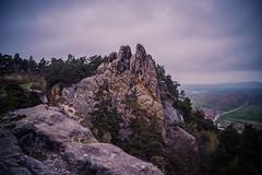 Mystic sunrise in the mountains (Henrik Schulze) Tags: mystic beautiful leica mountains harz germany europe sunrise blue landscape