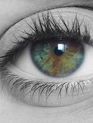 (clarapuigmarti) Tags: lenses macro photography soul reflextion iris mirror window summer hot lashes awesome amazing stunning sweet cute gorgeous pretty woman girl greeneye hazeleye hazel look eye