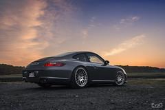 Porsche 911 Carrera (Evano Gucciardo) Tags: porsche 911 carrera sunset twilight style class automotive automotivephotography automotiveadvertising sky dusk nikon d800 2470mm new york landscape