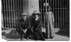 Couple and Egyptian Boy  Circa 1900 (Brownie Hawkeye Pics) Tags: couple history egyptian boy egypt asia africa social culture