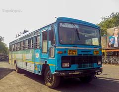 Queen of Risod (yogeshyp) Tags: msrtc msrtcmanavvikasbus maharashtrastatetransport msrtcschoolbus risoddepotbus