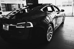 towards zero emissions (l i v e l t r a) Tags: ricoh gr hicontrast electric car auto zero emissions clean energy efficient ev battery motor reflections led design bw modern