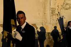 . (Joanna Mrowka) Tags: italy sicily trapani streetphotography street procession misteria holyweek easter ngc shadow light