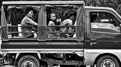 Passengers (Beegee49) Tags: van multicab truck family street passengers bacolod city philippines