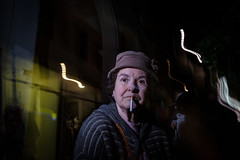 Got a light? (Spyros Papaspyropoulos) Tags: colour colourphotography color streetphotography streetphotographer street shadows light rethymno crete greece streethunters candid candidphotography fujifilmxpro2 xpro2 xf18 18mm photography lightroom face look stare nightshot night dark darkness portrait portraiture streetportrait streetportraiture candidportrait candidportraiture flashphotography offcameraflash