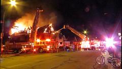 Paderewski Drive (Austie1) Tags: austie1 fire buffalo ny paderewski firefighters ladders