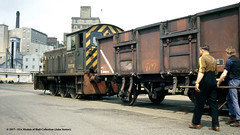 c.1969 - Ipswich, Suffolk. (53A Models) Tags: britishrail drewry class04 060dm d2279 diesel shunter ipswich docks suffolk train railway locomotive railroad