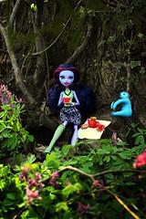 Jane Boolittle (eneida_prince) Tags: monsterhigh doll dolls osalina mattel photo photos mh 2017 monsterhigh2017 photoshoot janeboolittle junglegirl basic