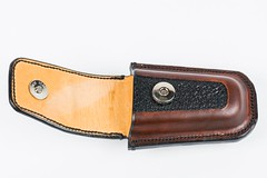 03_TopOpen (CabbitCastle) Tags: cabbit castle leather leatherworking sewed sewing tooled cabbitcastle leatherman skeletool belt pouch edc