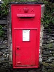 VR Post (Wildlife Terry well behind) Tags: er vr post pillar wall boxes windermere lakedistrictnationalpark cumbria northwestengland british engineering