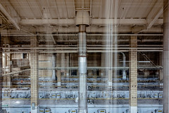 lucifaction. (jonathancastellino) Tags: architecture abandoned derelict decay ruin ruins leica q factory composite series interferencepatterns pipe tube oven pillar fade lucifaction surface glimmer marilynnerobinson industrial