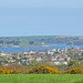 View over Falmouth towards St Mawes and the harbour