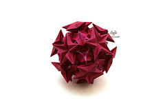 - (Akizhi) Tags: origami kusudama modular paper art crafts folding papercraft