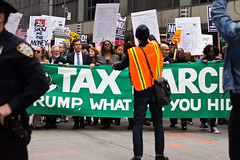 #TaxDayMarchNYC (maisa_nyc) Tags: newyork taxdaymarch march nyc protest