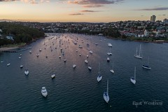 Forty Baskets (East Western) Tags: 40 forty baskets manly sydney harbour harbor sunset dusk australia yacht yachts ocean