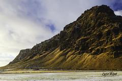 Þorvaldseyri (wilbias) Tags: mountains winter coast mountain afternoon south iceland þorvaldseyri thorvalseyri