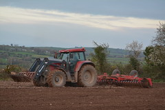 Case IH CVX 195 Tractor with a HEVA Tip-Roller Cultivator Roller (Shane Casey CK25) Tags: case ih cvx 195 tractor heva tiproller cultivator roller bartlemy cnh casenewholland red sow sowing set setting drill drilling tillage till tilling plant planting crop crops cereal cereals county cork ireland irish farm farmer farming agri agriculture contractor field ground soil dirt earth dust work working horse power horsepower hp pull pulling machine machinery grow growing nikon d7100 traktor traktori tracteur trekker trator ciągnik