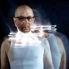tangled in light (Super G) Tags: nikon293h longexposure motion movement color light selfportrait