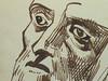 DELACROIX Eugène - Têtes, Etudes d'après la Gravure de L'Autoportrait du Titien (drawing, dessin, disegno-Louvre RF10612) - Detail 31 (L'art au présent) Tags: drawing dessins dessin disegno personnage figure figures people personnes art painter peintre details détail détails detalles dessins19e 19thcenturydrawing croquis étude study sketch sketches frenchpaintings peinturefrançaise frenchpainters peintresfrançais louvre museum paris eugènedelacroix eugène delacroix france pose model man men portrait portraits head heads face visage autoportrait selfportrait selfportraits letitien titien berlin germany allemagne tizianovecellio tiziano vecellio gravure engraving after