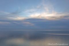 Lake Michigan ... sky patterned sunset (Ken Scott) Tags: sunset grays leelanau michigan usa 2017 april spring 45thparallel hdr kenscott kenscottphotography kenscottphotographycom freshwater greatlakes lakemichigan sbdnl sleepingbeardunenationallakeshore voted mostbeautifulplaceinamerica