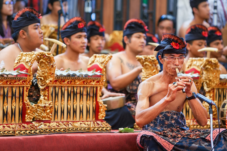 Traditional music and costume in an integral part of SE Asian festivals