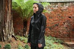 Goddess of Shine (rainwearfetish) Tags: shiny glanz nylon shine jacket rainwear raincoat regenjas regenjacke