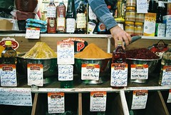 Taste and smell of Iranian bazaars :) (Katka.On.Film) Tags: bazaar shop spice iran shiraz analogue 35mm travelling