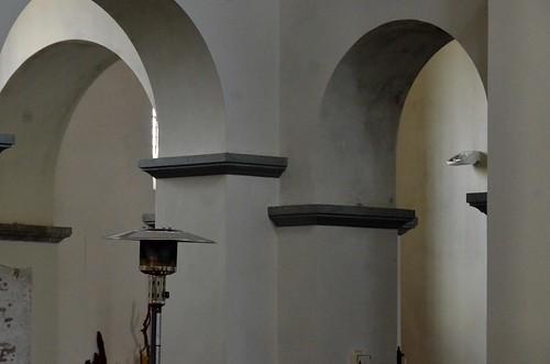 Lobbes (Hainaut), collégiale St-Ursmer (carolingienne)