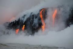 Mount Kilauea Volcano (toryjk) Tags: pele hawaii bigisland volcano nature lavaflow flowinglava oceanlava lavaboat lavaooze fireandwater steam