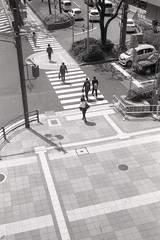 Ilford Delta 400 (HitoshiPort) Tags: film photography ilford delta 400 35mm street people japan kobe japanese indie vibe black white olympus 35 sp