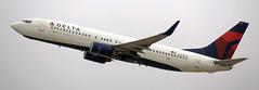Boeing 737-832 N377DA (707-348C) Tags: losangeles thehill lax klax deltaairlines dal delta california n377da airliner jetliner boeing boeing737 passenger b738
