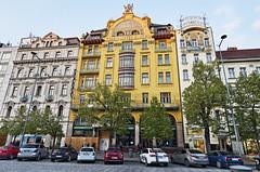 Hotels (roksoslav) Tags: prague czechrepublic 2017 wenceslassquare václavskénáměstí nikon d7000 sigma1020mm