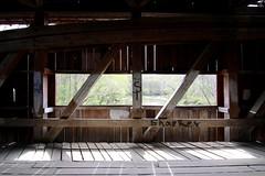 IMG_9732 (emmyeb) Tags: covered bridge window wood beams graffiti indiana