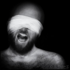 To be in the unknown (debahi) Tags: dark fear scream horror blackandwhite blind blinded bond tied hairy beard bearded mouth face portrait self selfie auto art artistic grain bald justice tamron