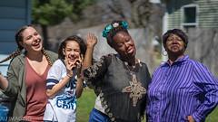 Four Generations (michaelaundrejonesjr) Tags: family women girl beauty pretty love spring michigan backyard bokeh people harsh sun sunny