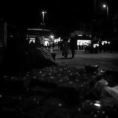 Heybeliada, Prince Islands, Istanbul (emrecift) Tags: candid night street portrait low light cityscape istanbul heybeliada princeislands analog mediumformat 6x6 filmphotography bw monochrome grain yashicamat124 tlr yashinon80mmf35 ilforddelta400 ilfosol3 114 emrecift filmdev:recipe=11382 ilfordilfosol3 film:brand=ilford film:name=ilforddelta400 film:iso=400 developer:brand=ilford developer:name=ilfordilfosol3