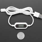 Micro B USB Cable with LCD Voltage / Current Display thumbnail