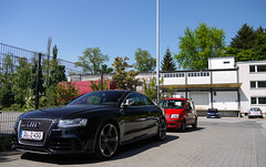 Audi RS5 (MauriceVanGestel Photography) Tags: auto blue sky sun black cars car weather sport germany de deutschland football panda blauw fiat d 5 negro north sunny bluesky du german coche alemania blueskies autos lucht audi fc dsseldorf rhine zwart rs a5 zon coches ddorf voetbal germancar sportscar deutsch duitsland tiempo weer duits fiatpanda niceweather alemn mooiweer sportwagen fusball westphalia northrhinewestphalia zonnig rhinewestphalia blauwelucht northrhine rs5 tannenhof audia5 audirs5 duitseauto deutscheauto audirs sportwagens blackaudi vennhausen fctannenhof dsseldorfvennhausen zwarteaudi cochealemn fctannenhofdsseldorf fctannenhofvennhausen