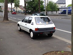 Peugeot 205 Junior de 1986 7750 SE 37 - 22 mai 2013 (Boulevard Jean Jaures - Joue-les-Tours) 1 (Padicha) Tags: auto new old bridge france water grass car station electric truck river french coach ancient automobile eau indre may police voiture ruine cher rest former 37 nouveau et loire quai franais nouvelle vieux herbe vieille ancienne ancien fleuve nationale vehicule lectrique reste gendarmerie gazon indreetloire franaise pave nouveaut vhicule utilitaire restes vgtalise letramdetours padicha