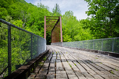 O&W RR Bridge (alreformed) Tags: railroad bridge forest outdoors nationalpark hiking steel bigsouthfork easttn nikond7000 oandwrailroad
